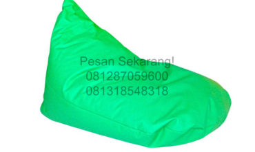 Sewa Bean Bag Hijau